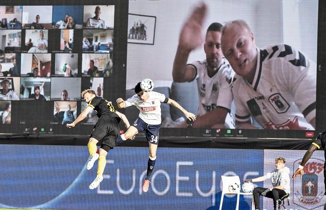 AGF use Zoom screens in stadium - Weekly News Update 5 June 2020