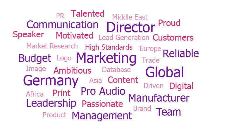 Global Marketing Director - Germany